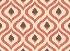 Red Spiral Pattern