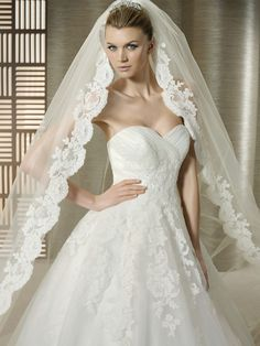 5964f888ee 16 mejores imágenes de velos de novia