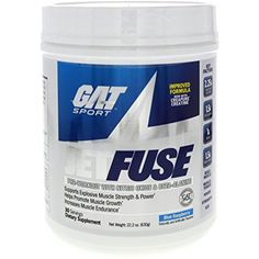 GAT SPORT Jetfuse New Protein Drink, Blue Raspberry, 1 Pound >>> You can find more details by visiting the image link. (This is an affiliate link and I receive a commission for the sales)
