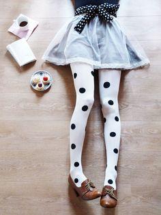note to self: buy polka-dot tights.