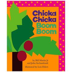 Chicka Chicka Boom Boom Book, Multicolor