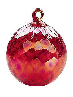 Glass Eye Studio Diamond Facet Ball Ornament