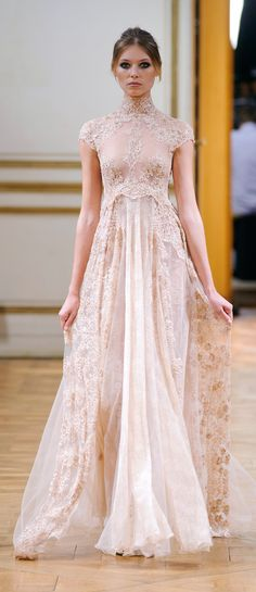 Zuhair Murad Lace Wedding Gown
