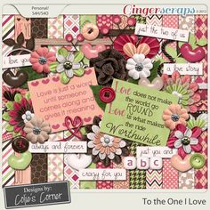 To the one I love by Colie's Corner #digiscrap