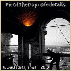 Con la #PicOfTheDay #turismoER di oggi vi portiamo dentro al campanile della Cattedrale di Ferrara. Complimenti e grazie a @fedetails