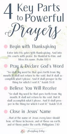 Do you ever feel like you don't know what to pray? Or maybe you feel like your prayers are useless? Here are tips for how to pray powerful daily prayers. + A FREE PRINTABLE BOOKMARK Prayer Times, Prayer Scriptures, Bible Prayers, Faith Prayer, God Prayer, Power Of Prayer, Prayer Quotes, Bible Verses Quotes, Powerful Scriptures