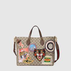 Gucci - Gucci Courrier soft GG Supreme tote