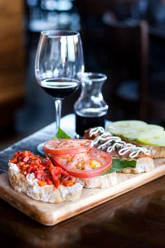 Postino (arcadia). Get your fill of wine and bruschetta. Numm!