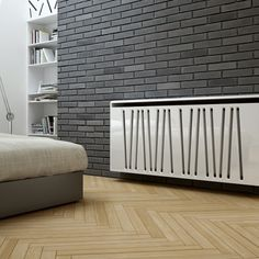 Scena floating radiator cabinet