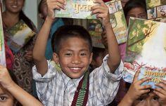 God's Word. Every child. #Nepal