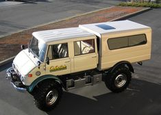 Super clean 1976 Unimog. Available now on Ebay. The owner had it on display at the Cabela's store in Reno, Nevada.