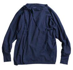 Indigo Knit Bolero 45R Online Store: Lady's