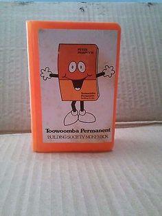 Toowoomba Permanent Building Society money box.