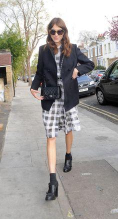 Alexa Chung in Paul Smith Black Label @ Vogue Festival