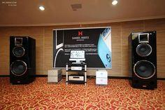 Daniel Hertz Reference Speakers & Daniel Hertz mono Reference amplifiers