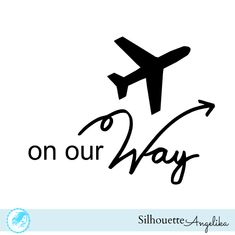 On Our Way Free Silhouette Studio Cut File |