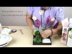 Arreglo XV Años Azuceña Silvestre Orquídea de Foamy