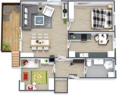 32-Simple-Two-Bedroom-House-Plan.jpg (1180×958)