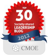 Top 30 Socially-Shared Leadership Blogs. Great article making leadership so much more accessible. Happy searching!