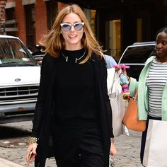 Olivia Palermo Just Broke Summer's Number 1 Fashion Rule: Wearing white during Summer is a no-brainer, but sporting head-to-toe black?