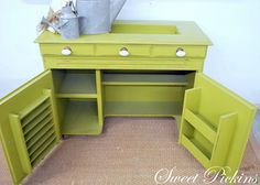 wonder if I could make this myself - maybe after a few other learning projects  http://www.sweetpickinsfurniture.com/2012/02/before-after-sewingcraft-cabinet.html