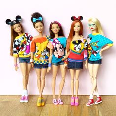 Disney loving Barbie Girls Made to Move