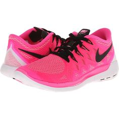 Nike Free 5.0 '14 Women's Running Shoes, Pink ($70) ❤ liked on Polyvore