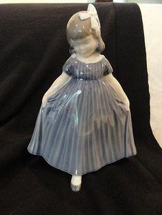 Royal-Copenhagen-Figurine-Dancing-Girl-in-Blue-Dress-2444