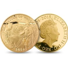 Battle of Waterloo 2015 UK £5 Gold Proof Coin | The Royal Mint