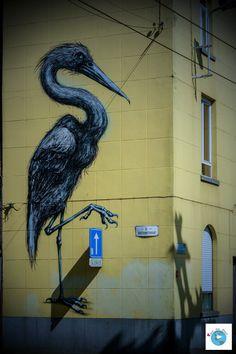 Street art  Gand Roa Belgique Flandres Love Live Travel Blog Voyage