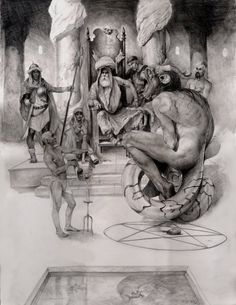 The Djinn by Paul Mellender