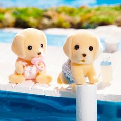 Calico Critters Yellow Labrador Twins « Blast Groceries