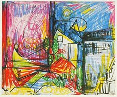 Hans Hofmann – Vintage Art Print – Art & Vintage Store Ltd Vintage Art Prints, Vintage Posters, Landscape Prints, Landscape Art, Hans Hofmann, Wall Art Prints, Fine Art Prints, Modern Pop Art, Paper Wall Art