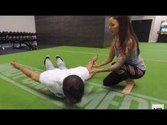 Correcting Upper Cross Syndrome to Improve Posture & Health-- Prone Cobra - YouTube