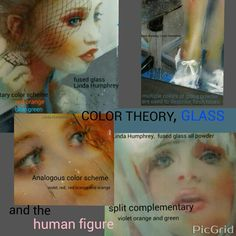 Color theory, with Linda Humphrey/kilnforms 2015