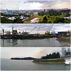 20090313_100000ipCollage - #Collage of 3 #GooglePanoramas created during #walks in #Singapore.