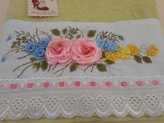 toalhas de banho bordadas 1