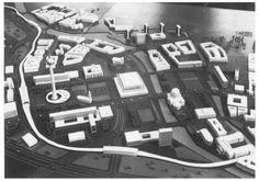 Modell Zentrum Ost-Berlin, 1966
