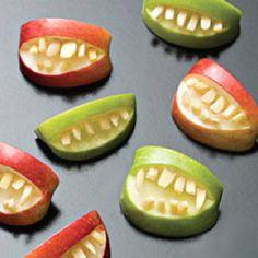 Halloween Foods for kids #apples