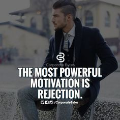 The most powerful motivation is rejection. - Tap the link to learn the secret on how you can make a lot of money without a job! - Tap the link now to Learn how I made it to 1 million in sales in 5 months with e-commerce! I'll give you the 3 advertising phases I did to make it for FREE!