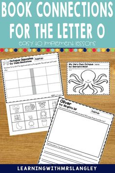 Do your pre-school or kindergarten students struggle when learning the LETTER O? Are you looking for proven activities that will actually help students master the alphabet? I can help! Immerse your students in a letter a day or week to quickly gain fluency in the alphabet. These lessons focus on recognizing the letter O and the initial vowel sound and include detailed lesson plans, rhyming activities, math and science activities, art activities, and more! Book Letters, Alphabet Book, Learning The Alphabet, Rhyming Activities, Science Activities, Morning Meeting Activities, Letter Identification, Letter To Parents, Teaching Letters