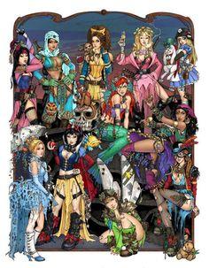 Disney princess gone bad Zombie Disney, Disney Punk, Disney Girls, Hipster Disney, Steampunk Disney Princesses, Naughty Disney Princesses, Disney Fan Art, Disney Love, Disney Style