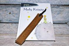 Wonderful unique personalized leather bookmark by GOMAleatherwork