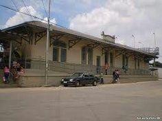 Estação ferroviária de Jundiapeba,  Mogi das Cruzes - SP.  Final do século XX
