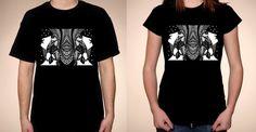 The Night - t-shirts by Luiza Poreda