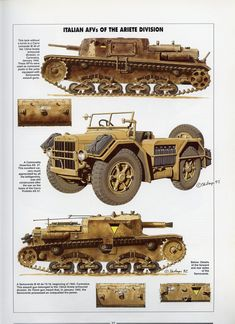 Histoire & Collections - Tanks of the WWII — Yandex. Army Vehicles, Armored Vehicles, Military Art, Military History, Afrika Corps, Italian Campaign, North African Campaign, Military Drawings, Tank Armor