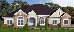 House Plan chp-44032 at COOLhouseplans.com