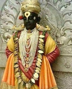 This is a huge idol of Lord Vittal about 1 km before enterin - Picture of Vitthal Rukmini Temple, Pandharpur - Tripadvisor Hanuman Images, Ganesh Images, Radha Krishna Images, Lord Krishna Images, Krishna Art, Shiva Photos, Krishna Pictures, Krishna Photos, Tanjore Painting