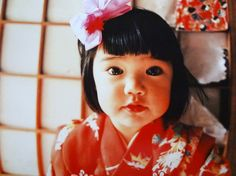 Mirai-chan by kotori kawashima 「未来ちゃん」 Beautiful Children, Beautiful Babies, Cute Japanese Girl, Asian Babies, We Are The World, All Things Cute, Cute Baby Girl, Baby Boys, Cute Kids