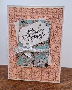Forever Blossoms Cardmaking And Papercraft, Matching Gifts, Blossoms, Sally, Cherry Blossom, Are You Happy, Stampin Up, Card Making, Paper Crafts